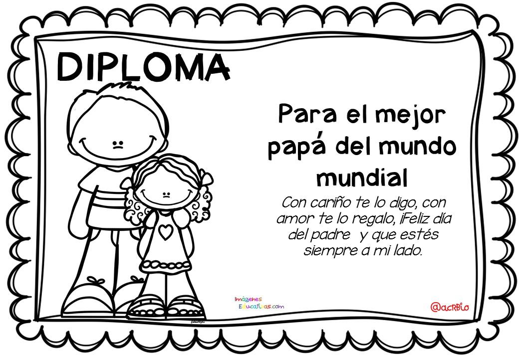 Diplomas da del Padre 1  Imagenes Educativas