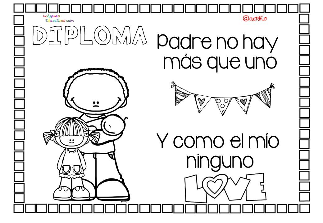 Diplomas da del Padre 9  Imagenes Educativas