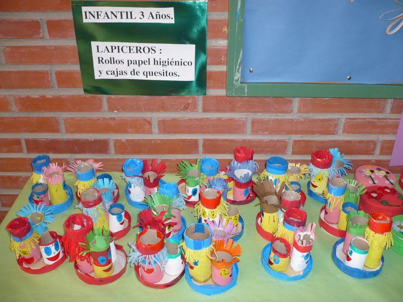Manualidades medio ambiente 6 imagenes educativas - Feria de manualidades en barcelona ...