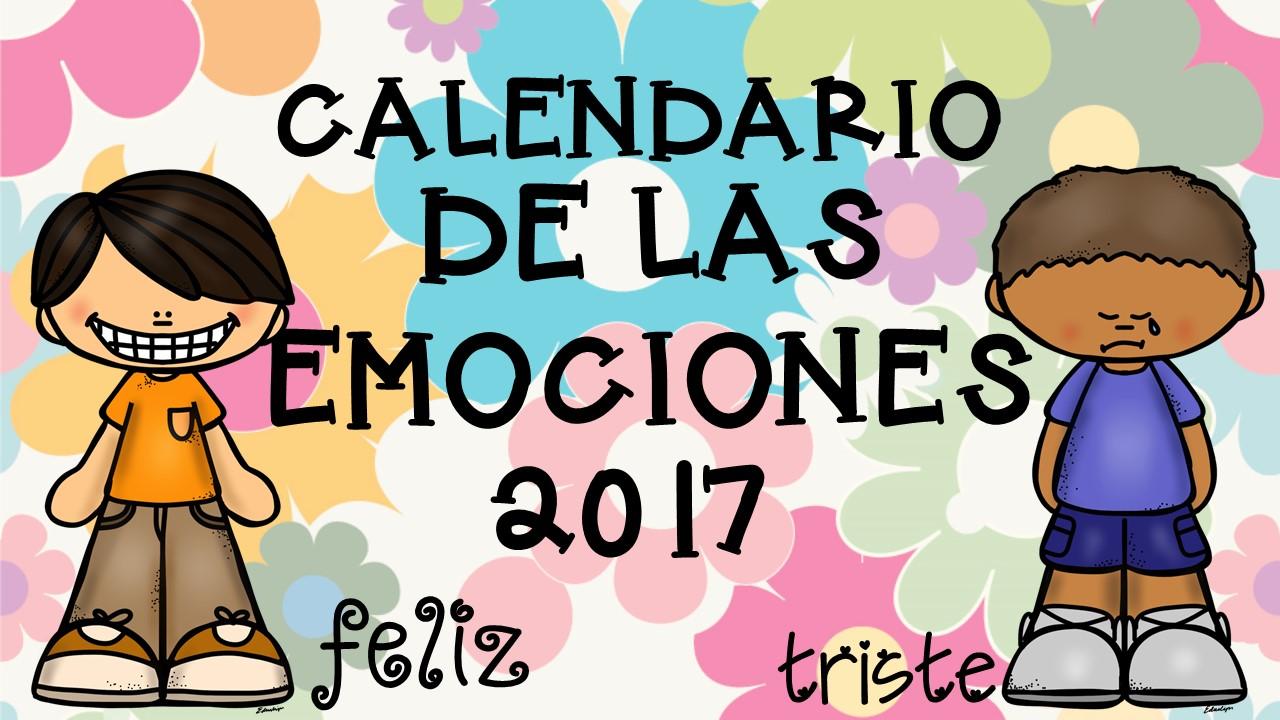 Calendario 2017 para trabajar las emociones- (7) - Imagenes Educativas