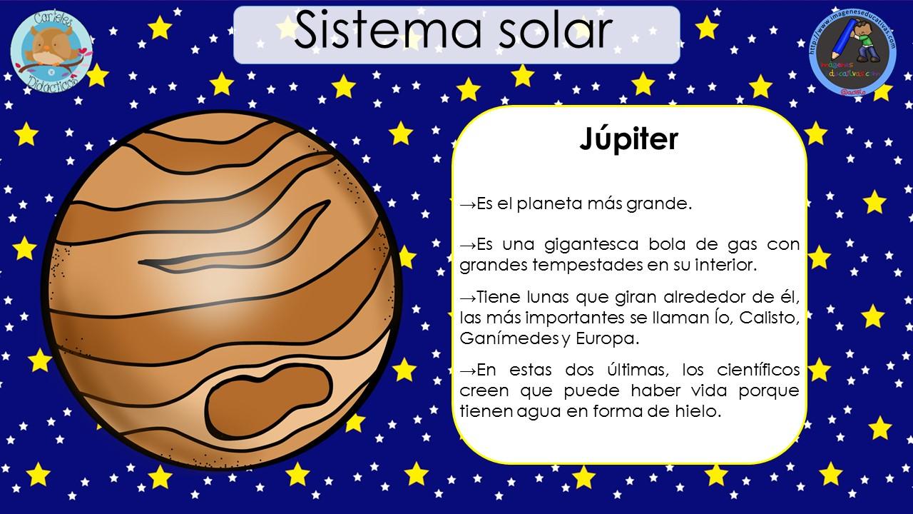 Sistema Solar 8 Imagenes Educativas