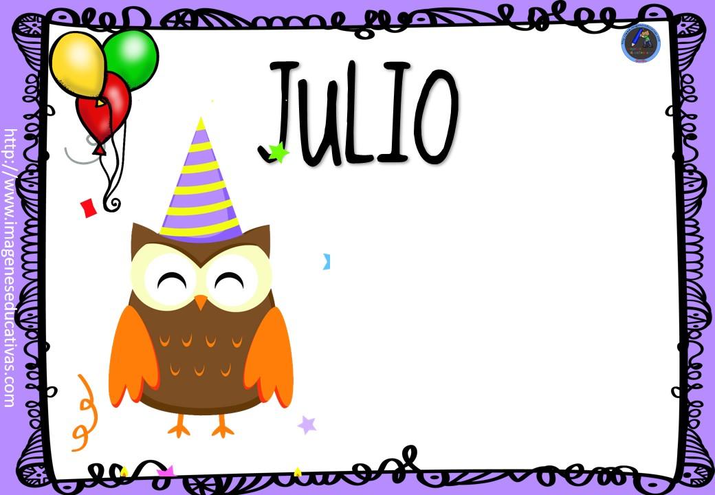 Carteles Y Tarjetas De Feliz Cumpleaños Para Colorear: CARTELES CUMPLEAÑOS (7)