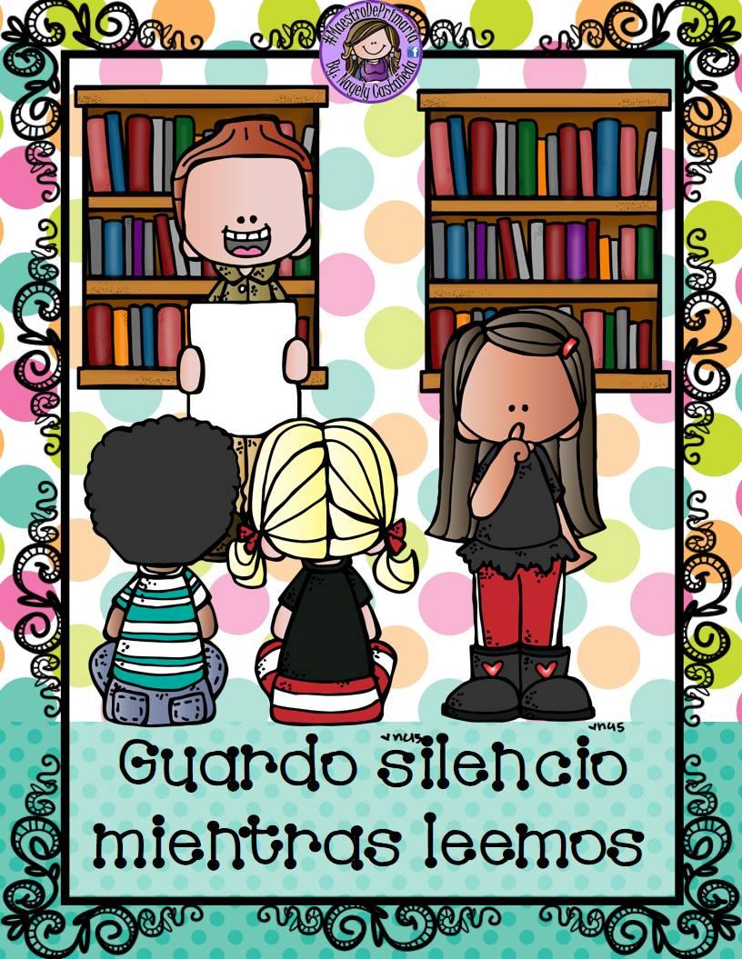 Reglamento de la biblioteca escolar 7 imagenes educativas for Como mantener silencio en un comedor escolar