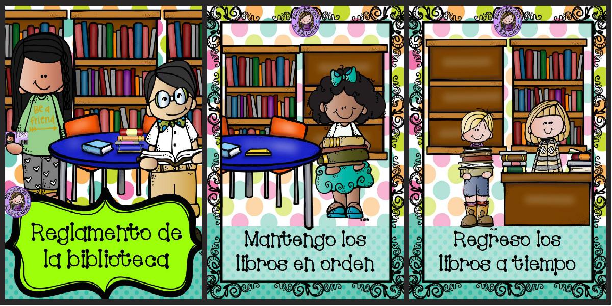 Reglamento de la biblioteca escolar imagenes educativas for Como mantener silencio en un comedor escolar