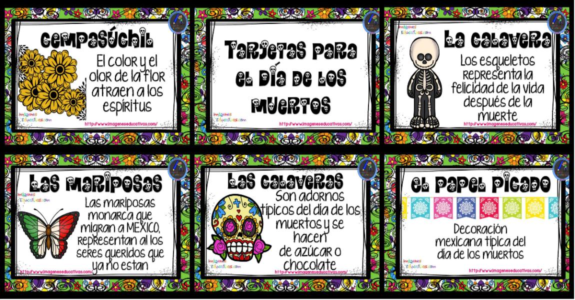 Altar Día De Los Muertos Archivos Imagenes Educativas