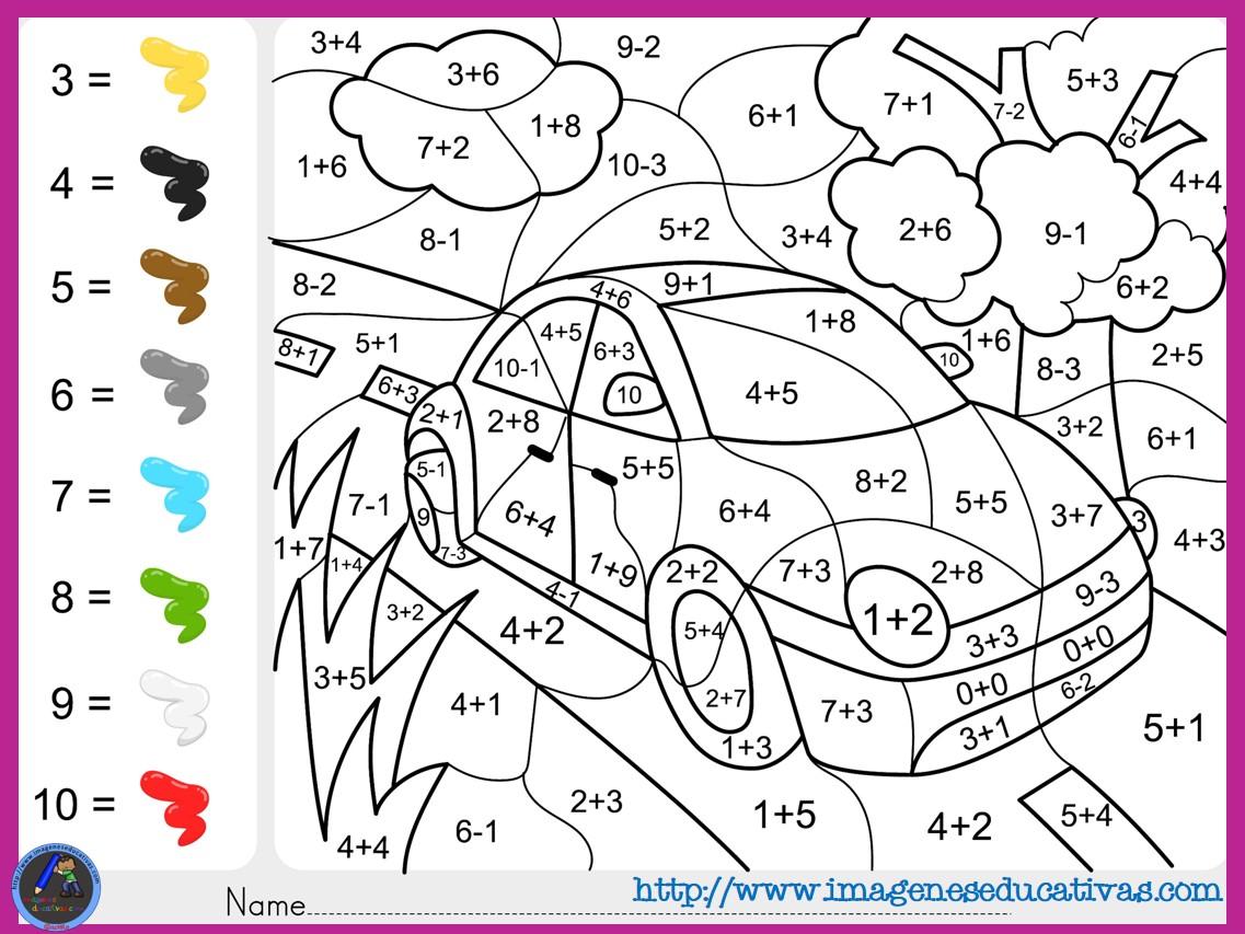 Fichas-de-matematicas-para-sumar-y-colorear-dibujo-6