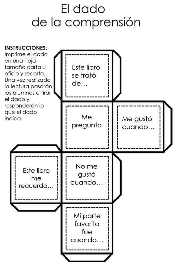 Ejemplos dado comprension lectora 2 imagenes educativas for Proyecto de construccion de aulas educativas