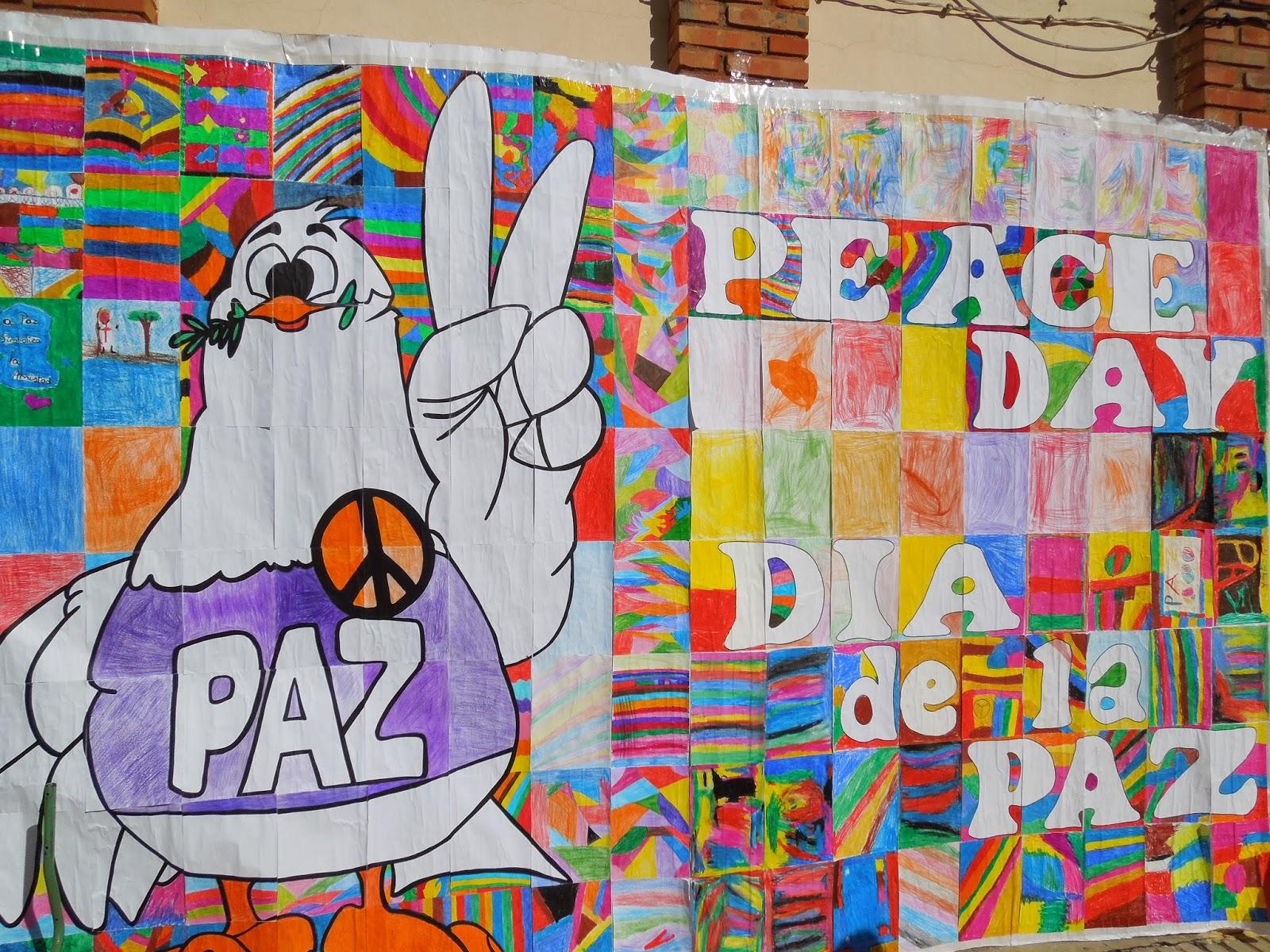 Murales d a de la paz 19 imagenes educativas for Cuanto cobrar por pintar un mural