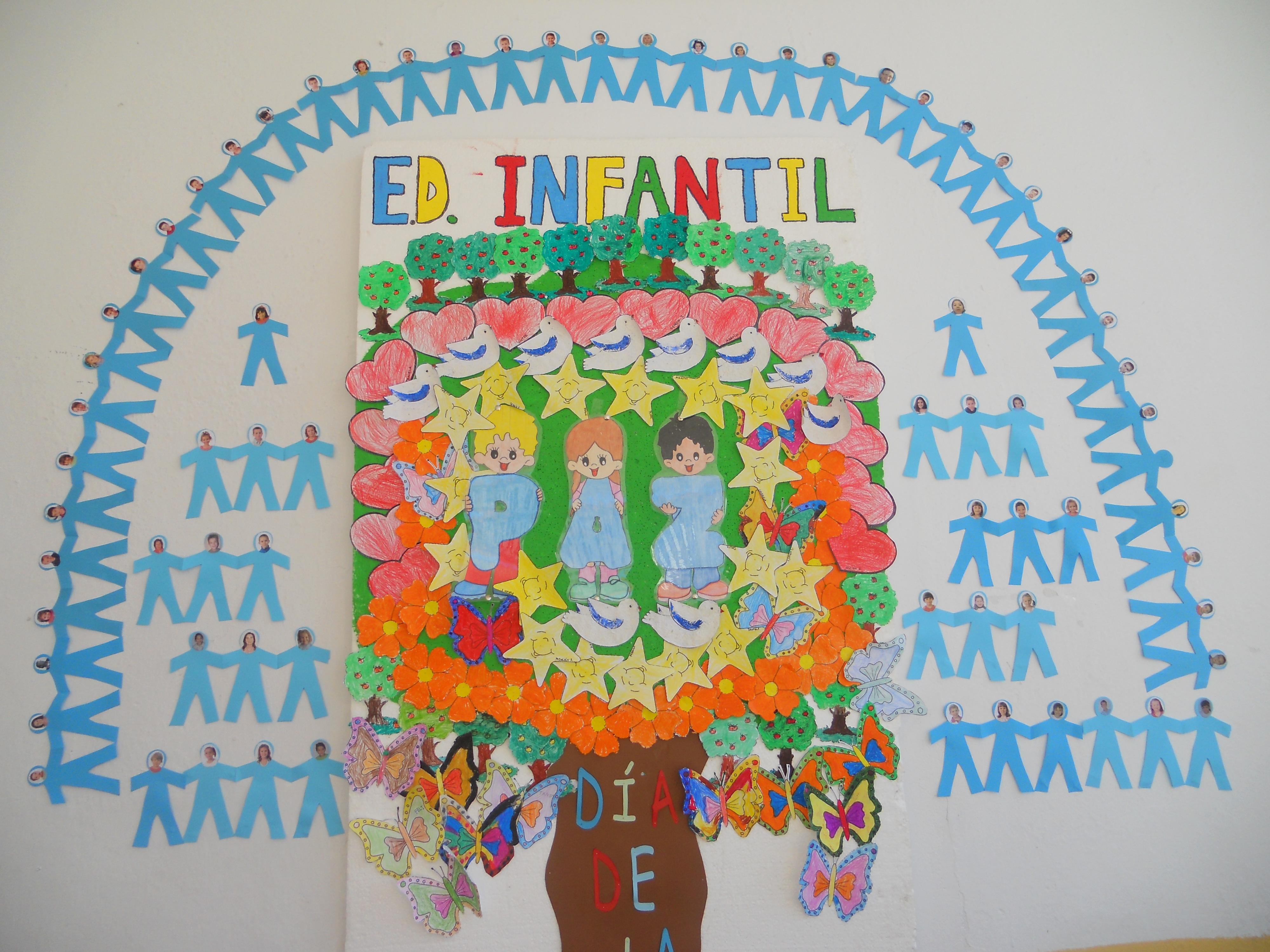Murales d a de la paz 10 imagenes educativas - Murales pintados en la pared ...