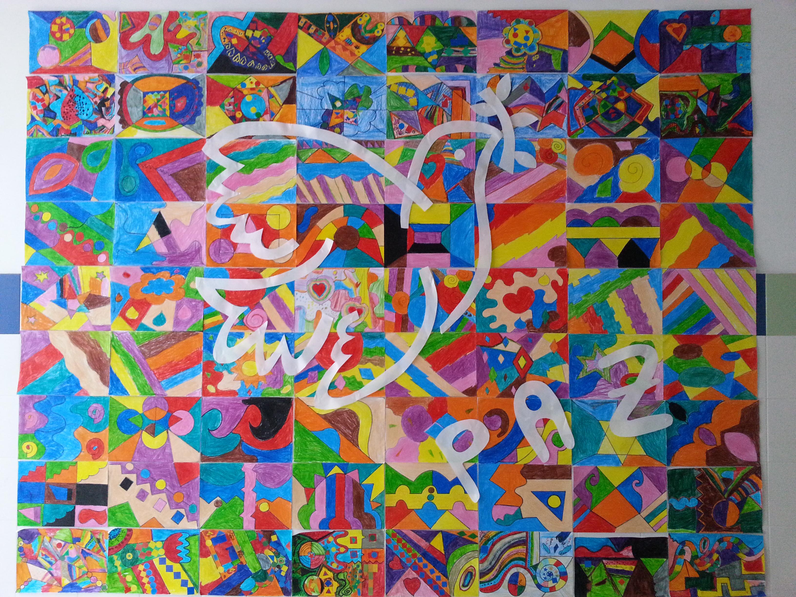 Murales d a de la paz 3 imagenes educativas - Murales pintados en la pared ...