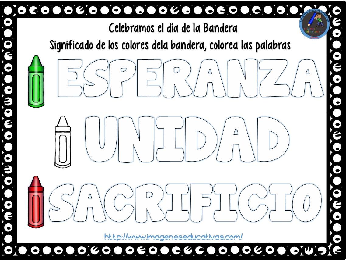 Actividades Para Trabajar El 24 De Febrero Día De La Bandera