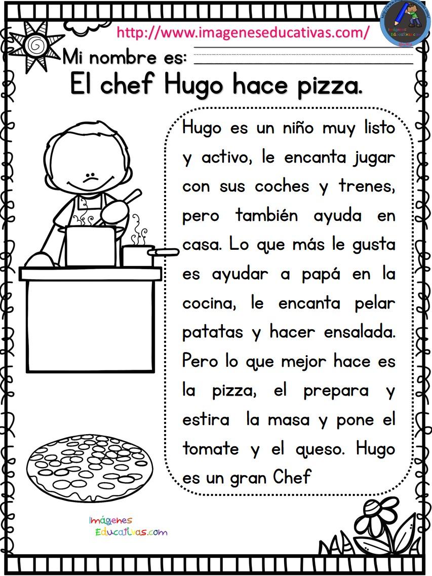 Lecturas comprensivas para primaria 3 imagenes educativas - Grado en cocina ...