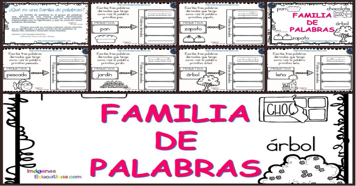 La familia de las palabras imagenes educativas for Significado de la palabra arbol