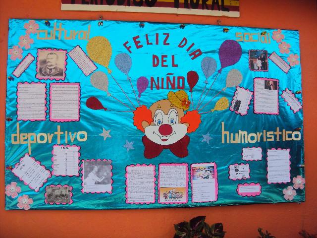 Periodico mural mes de abril 9 imagenes educativas for Como decorar un mural