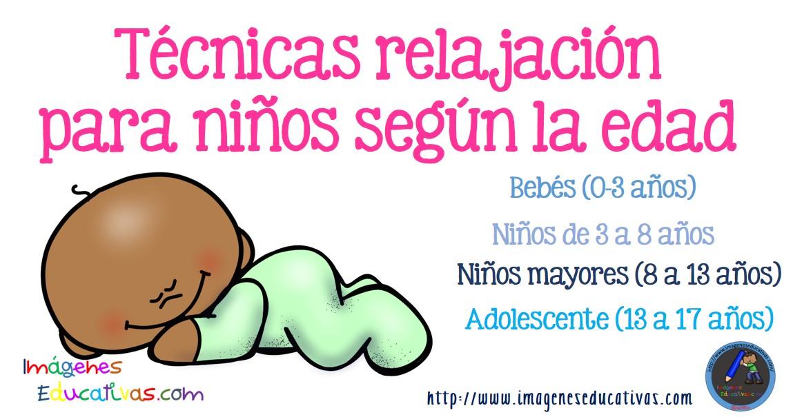 T cnicas relajaci n para ni os seg n la edad imagenes educativas - Relajacion para dormir bien ...