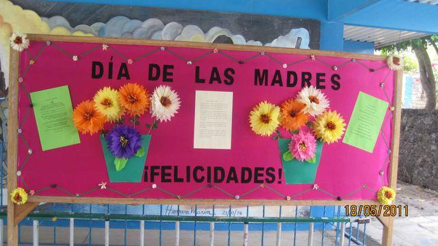 Peri Dico Mural Mayo Mes De Las Madres 12 Imagenes