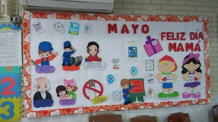 Peri dico mural mayo mes de las madres 35 imagenes for Amenidades para periodico mural