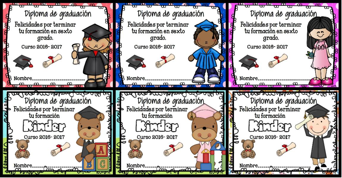 diplomas Archivos - Imagenes Educativas