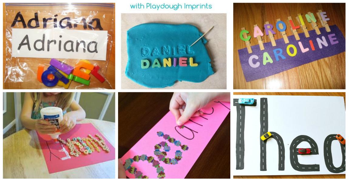 Actividades divertidas para aprender a escribir su nombre - Literas divertidas para ninos ...