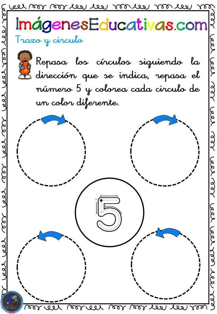 Cuadernos Imágenes Educativas + de 3 años NÚMERO 1 (5 ...