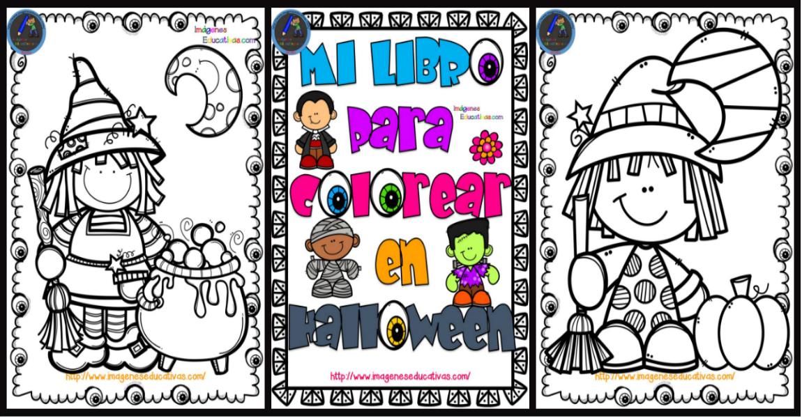 Librito Para Colorear En HALLOWEEN