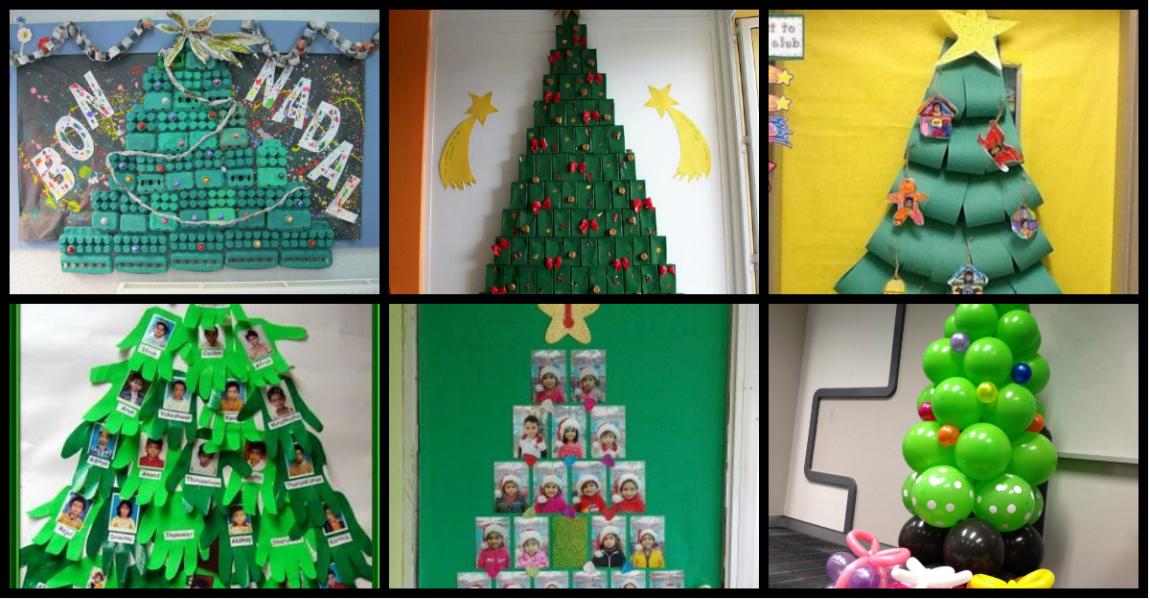 101 ideas para hacer y decorar el rbol de navidad de tu for Cuando se pone el arbol de navidad