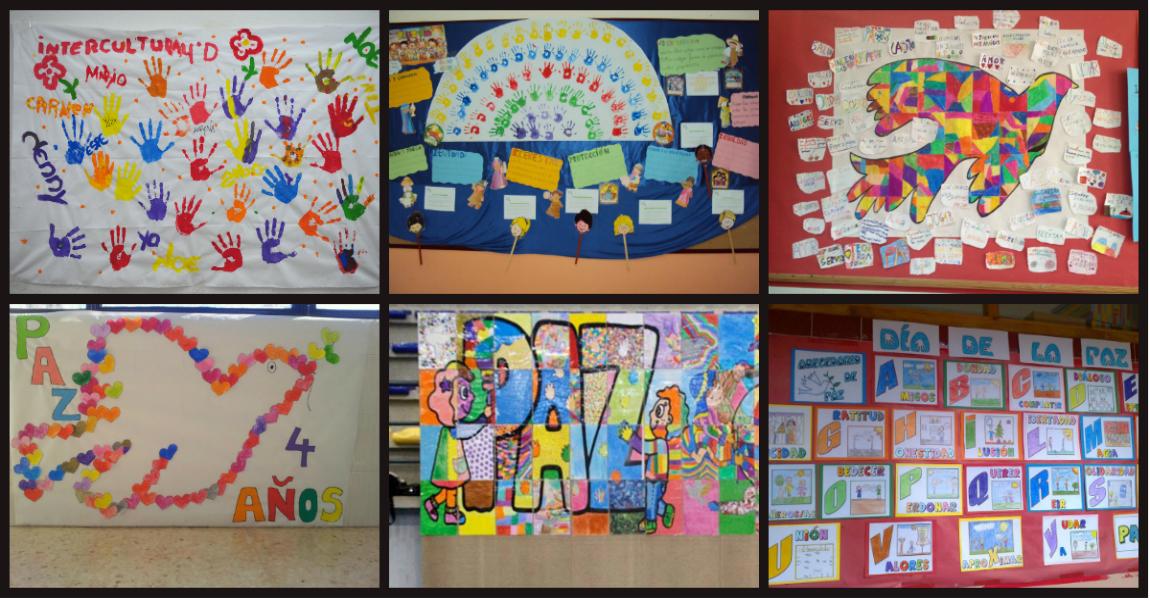 Rincón De Infantil Día De La Paz: 2018 Murales Para 30 De Enero. Día Escolar De La Paz Y La