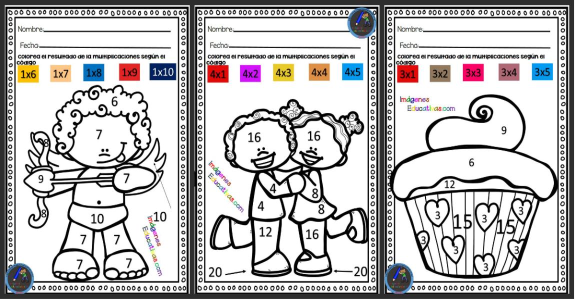 colorear por números Archivos - Imagenes Educativas