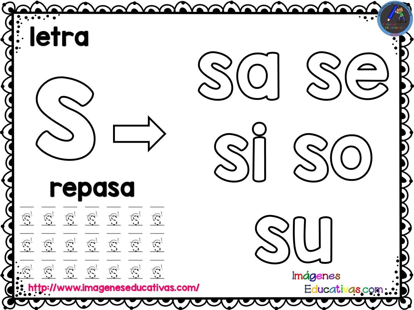 Mi silabario para COLOREAR y REPASAR (30) - Imagenes ...