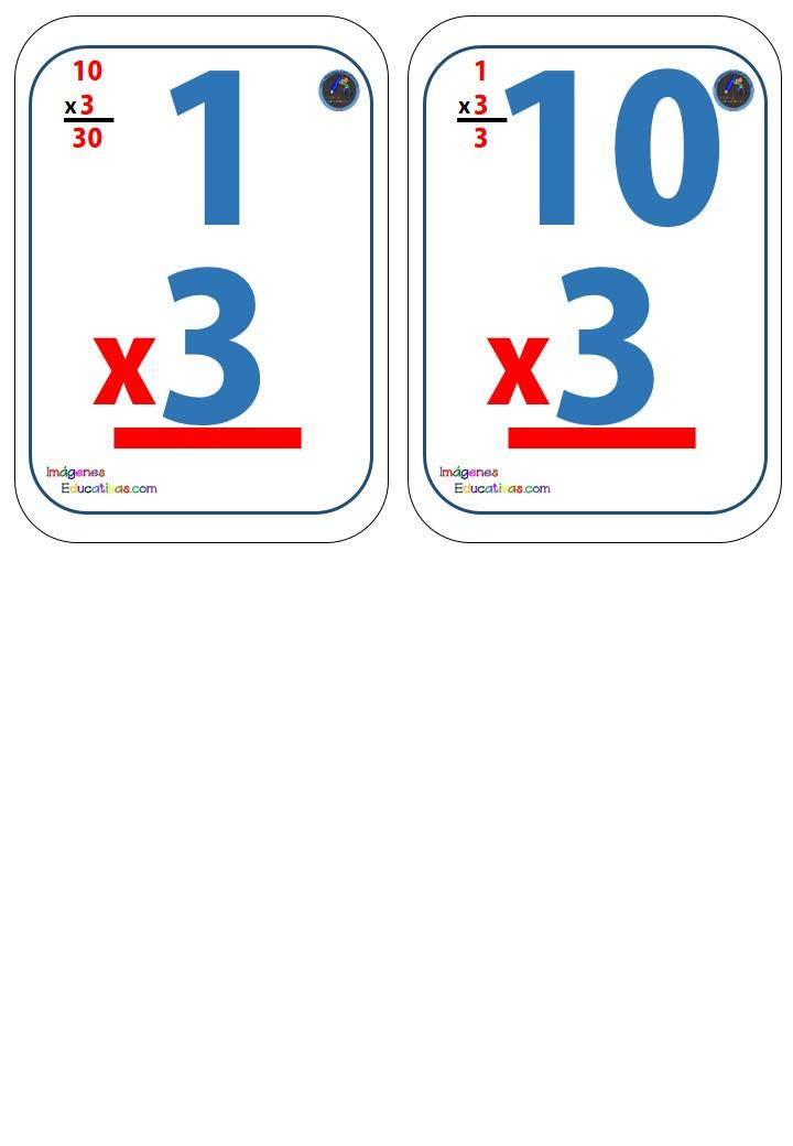 Baraja de cartas para trabajar las tablas de multiplicar for Actividades divertidas para el salon de clases