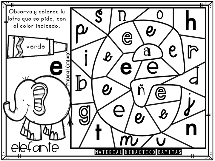 Librito Para Colorear Las Vocales 7 Imagenes Educativas